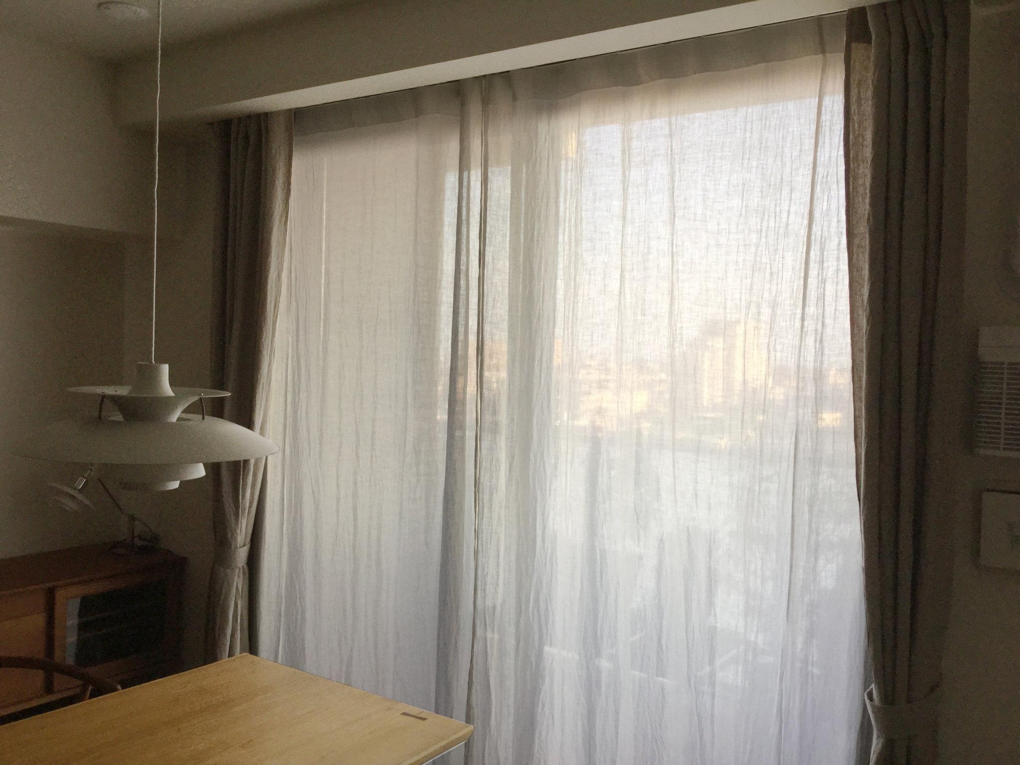 宮城県仙台市] 北欧インテリアに合うリネンカーテン | リネンカーテン